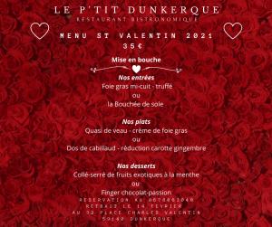 Le Ptit Dunkerque - special saint valentin