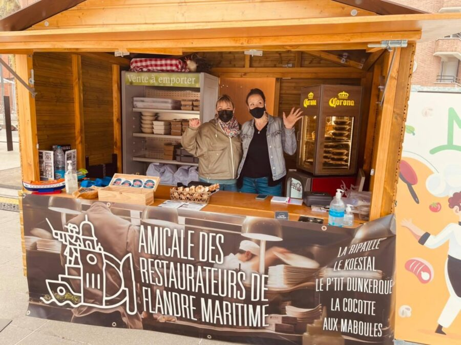 Marche des restaurateurs, plats disponibles à la réservation pour CE VENDREDI ET SAMEDI 1MAI